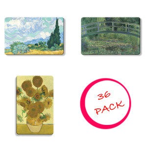 36 Pack of The National Gallery Myne Card Collection