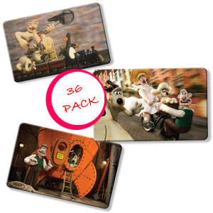 Wallace and Gromit Myne Card Collection - 36 Pack