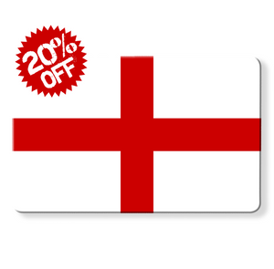 rfid card - english flag, Myne cards, uk flag, england flag as a myne card