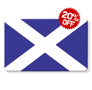 rfid card - Scottish flag, Myne cards, scotland flag