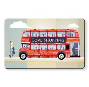Shopping London Bus - Dom Vari Contactless Protection Myne card