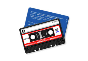 Retro Cassette Tape - Contactless Protection Blocker Card