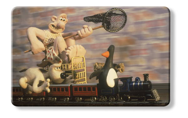 Wrong trousers - Wallace & Gromit penguin credit card