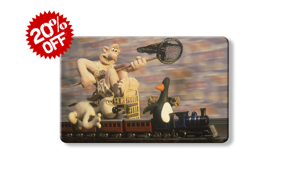 rfid card, the Wrong trousers - Wallace & Gromit penguin credit card wallet