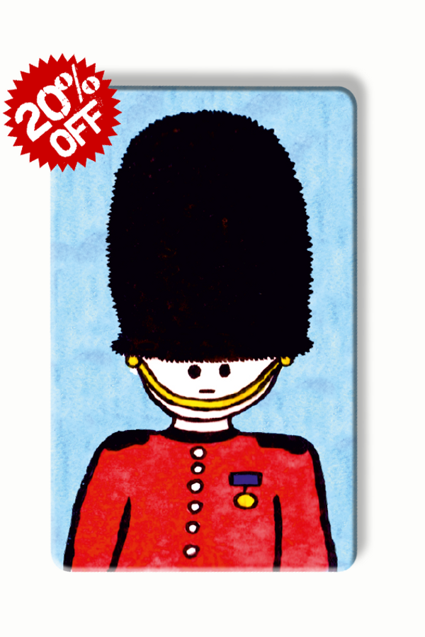 rfid card, Queen's Guard - To Home From London Art