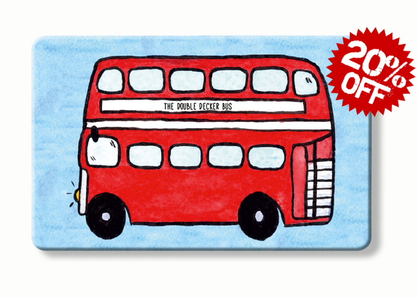 rfid card, The Double Decker - To Home From London wallet