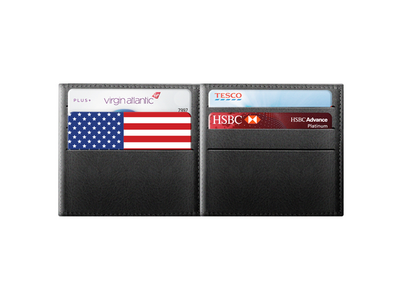 American Flag - rfid card, Contactless Protection Blocker Card in wallet
