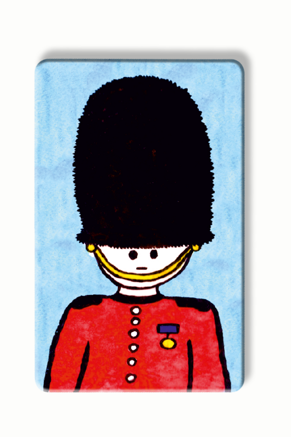 Queen's Guard - To Home From London - Contactless blocker card