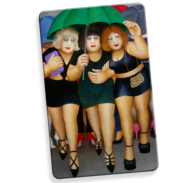 Clubbing in the Rain Myne Card RFID Contactless blocker card