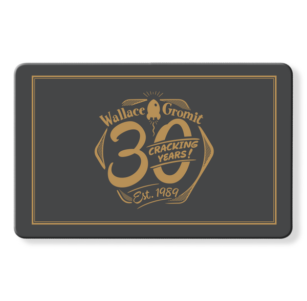 Wallace & Gromit 30 Cracking Years Myne Card