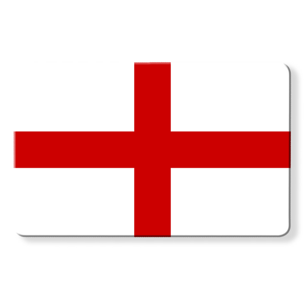 England Flag - Contactless Protection Myne Card