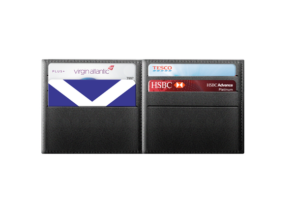 Scotland Flag - rfid card, Contactless Protection Myne Card in wallet