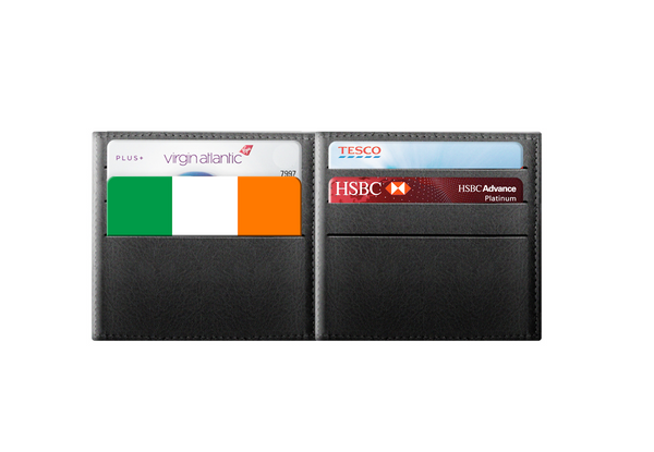 Ireland Flag - rfid card, Contactless Protection Myne Card in wallet