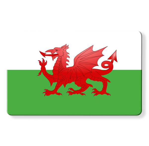 Welsh Flag - Contactless Protection Myne Card