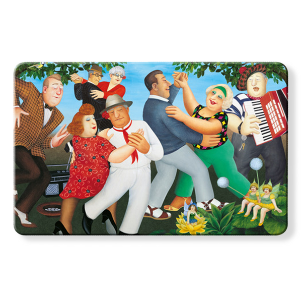 Myne Card RFID Contactless Protection card with Beryl Cook dancing
