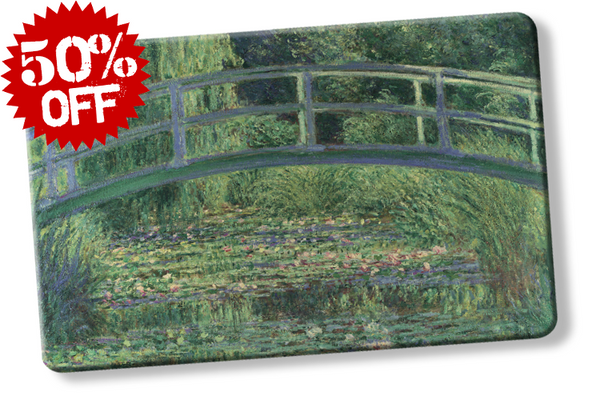 rfid card, Water-Lily Pond by Claude Monet - National Gallery London RFID blocker