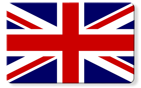 Union Jack Flag - Contactless Protection Myne Card