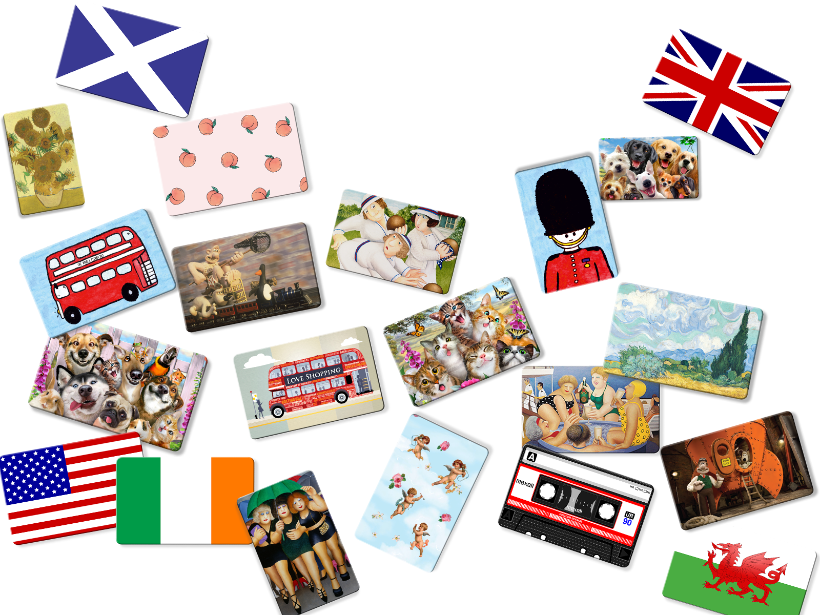 Showing a wide range of designs from Myne Cards