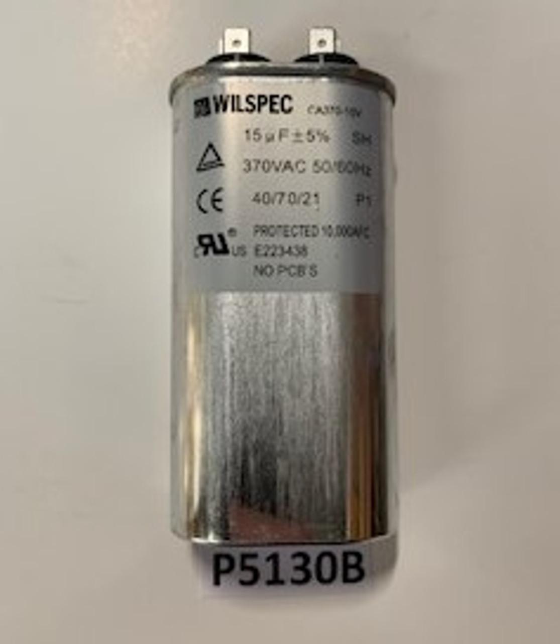 Capacitor, Run 15 MFD, Aaon, P5130B