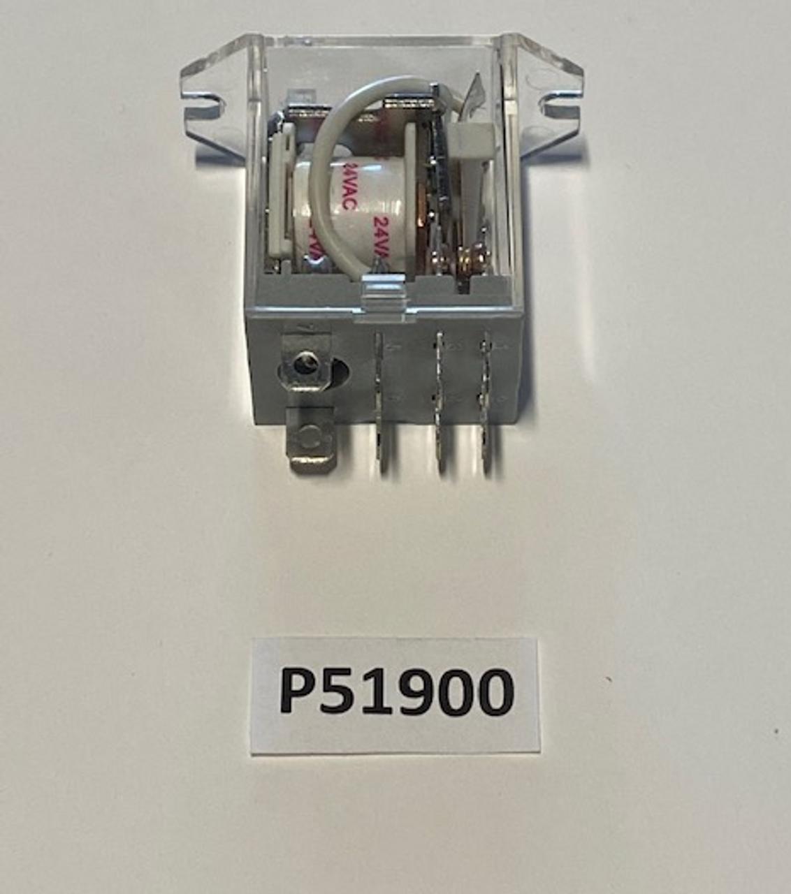 Relay, DPDT IDEC 24VAC, Aaon, P51900