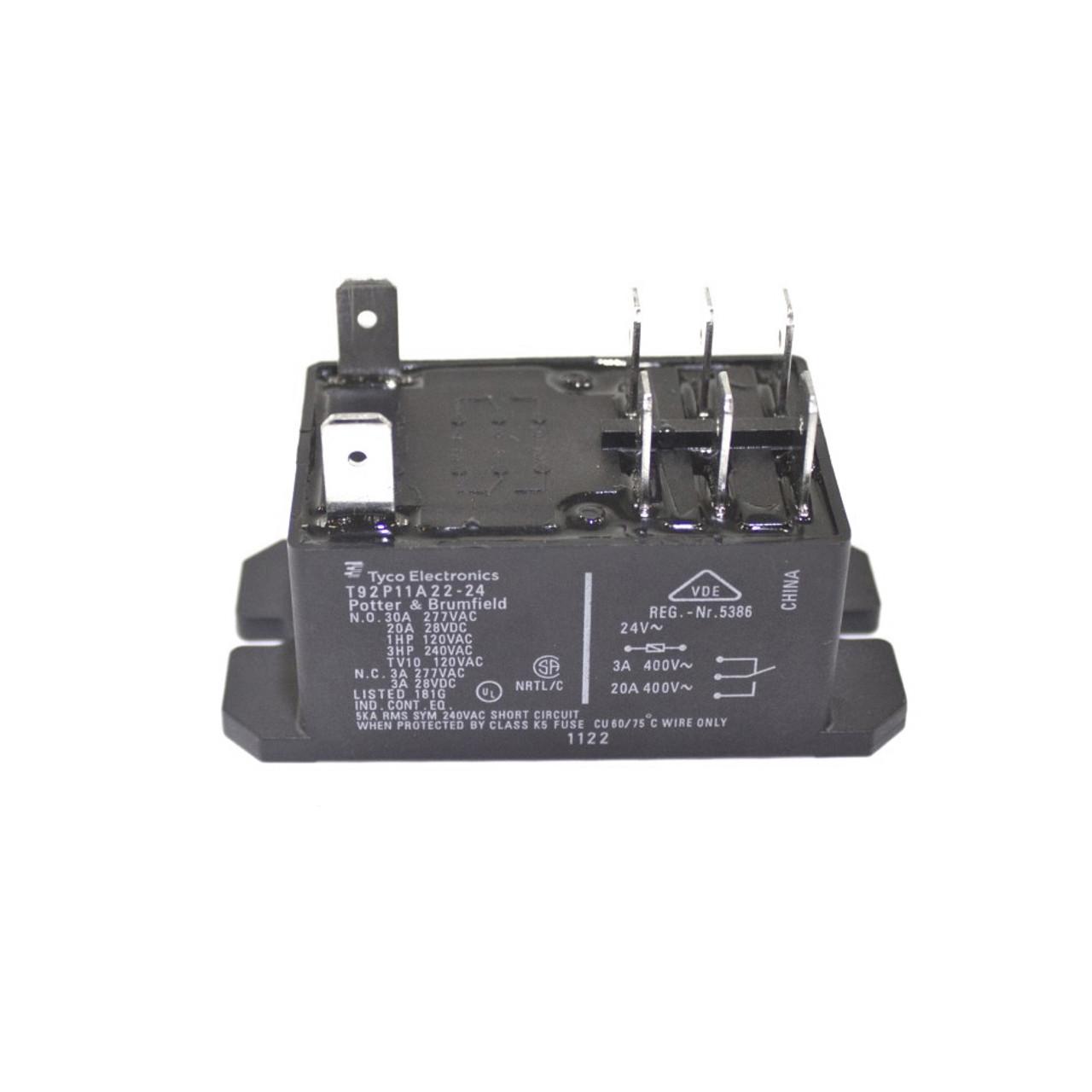 R90510 Relay, Power DPDT 1.5HP/24V/600V