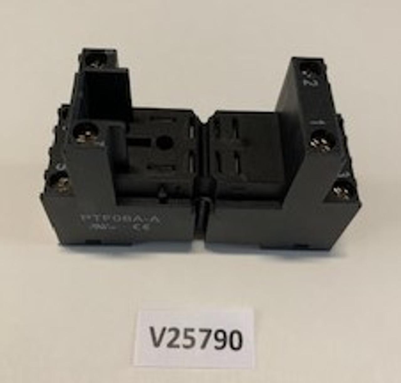 Socket, Relay DPDT CIT, Aaon, V25790