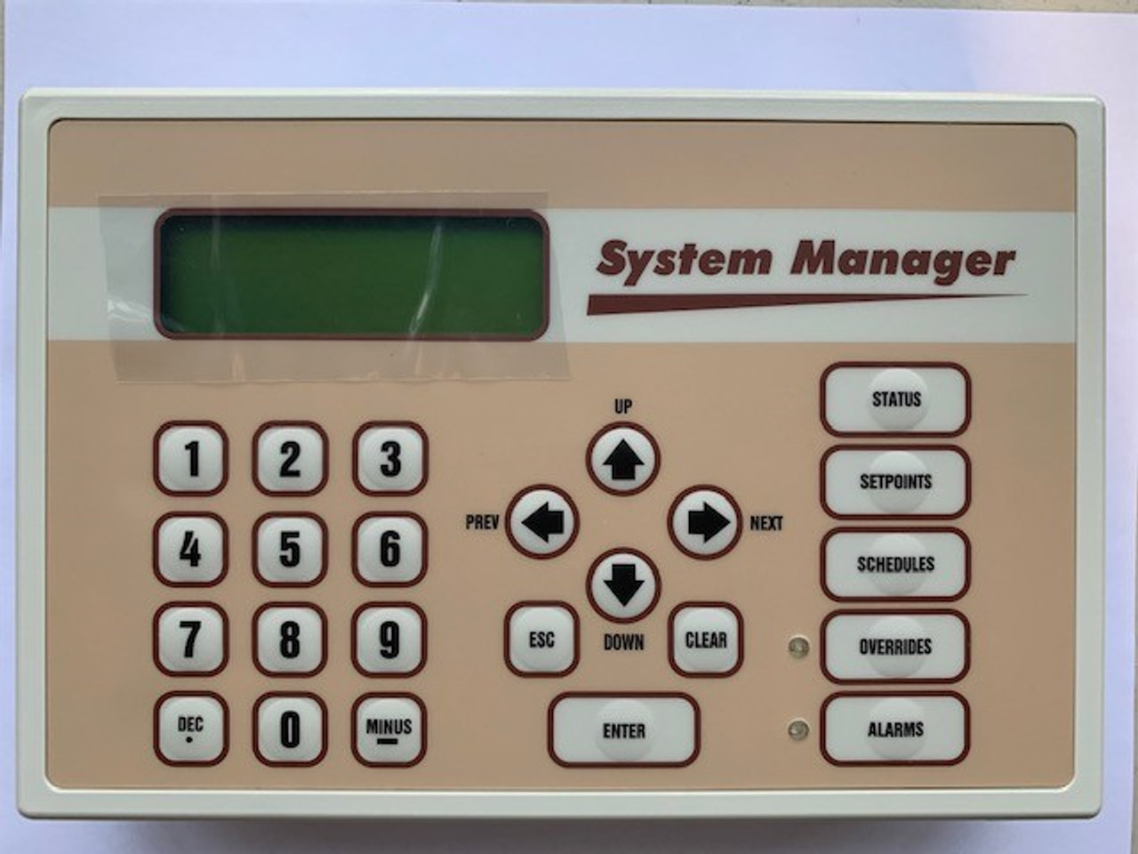 ASM01901 MODULAR SYSTEM MANAGER SD OPERATOR INTERFACE FOR ORION CONTROL- OE392 - 12