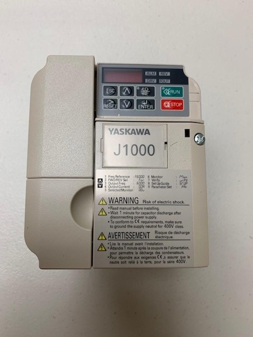 R75330 VFD 5HP 480V-J1000 YASKAWA