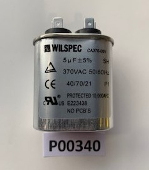 Capacitor, Run 5 MFD, Aaon, P00340