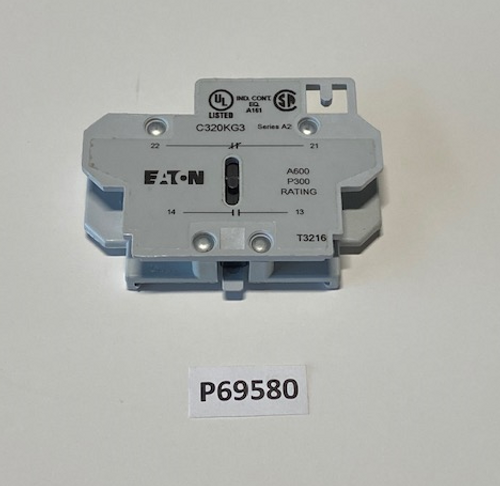 Contact, Auxillary NO/NC CH, Aaon, P69580