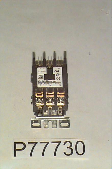 P77730 Contactor, 3P/30A208-240V CH