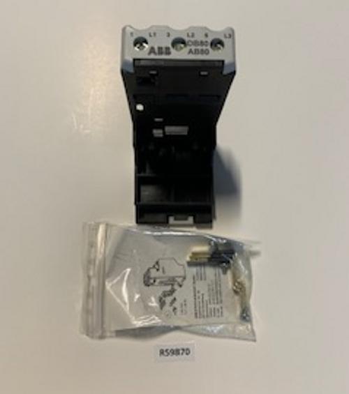 Socket, Relay Overload D880 ABB, Aaon, R59870