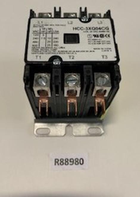 Contactor, 3P/40A/24V/600V SQ-D, Aaon, R88980