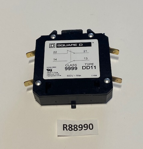 Contactor, Auxillary DPA Series 90A SQ-D, Aaon, R88990