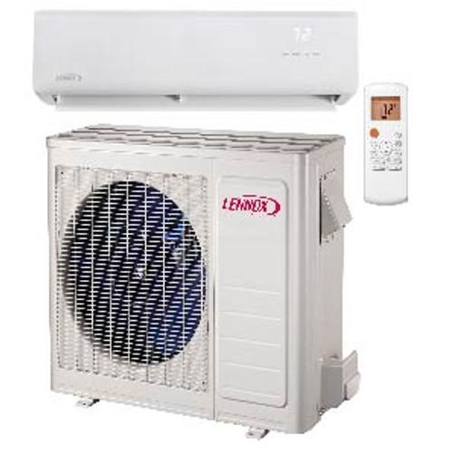 Lennox ML Series .75 Ton Low Ambient Single Zone 9,000 BTU Heat Pump Mini Split System