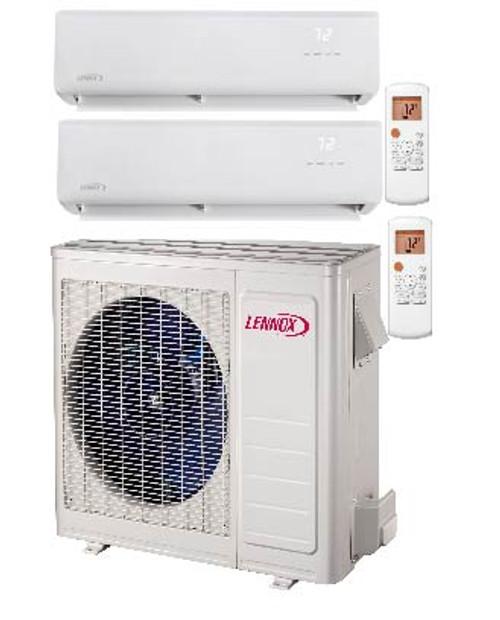 Lennox ML-Series 1.5 Ton Dual Zone Low Ambient 19,000 BTU Heat Pump Mini-Split System