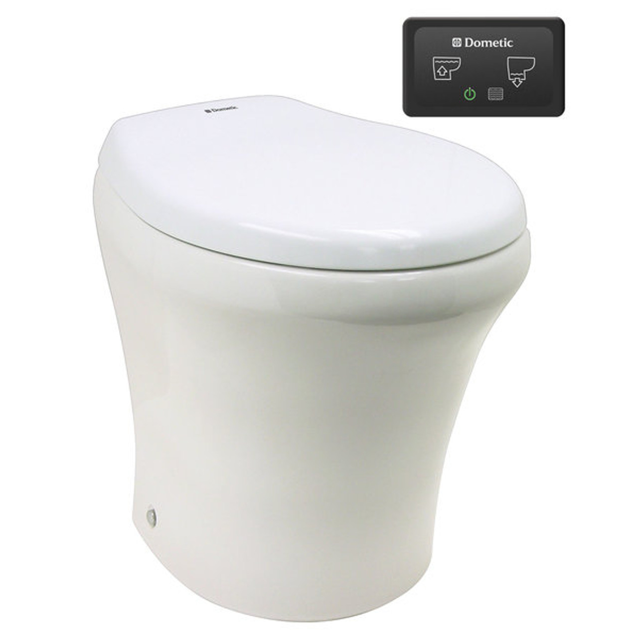 8540 Fresh Water Macerator Toilet Dometic