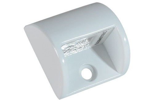 Lumitec Andros Courtesy/Accent Blue LED Light White Housing 12v