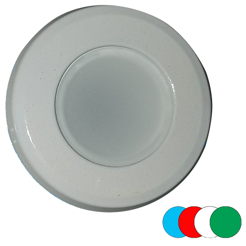 Shadow Caster Downlight RGBW Full Color White Finish