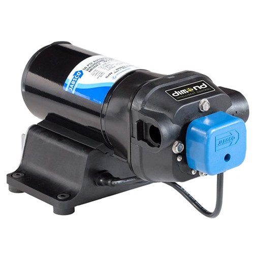 Jabsco V-FLO Water Pressure Pump with Strainer - 5GPM - 12VDC 40PSI, 42755-0092