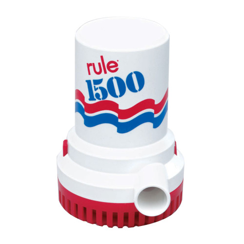 Rule 1500 G.P.H. Bilge Pump, 02