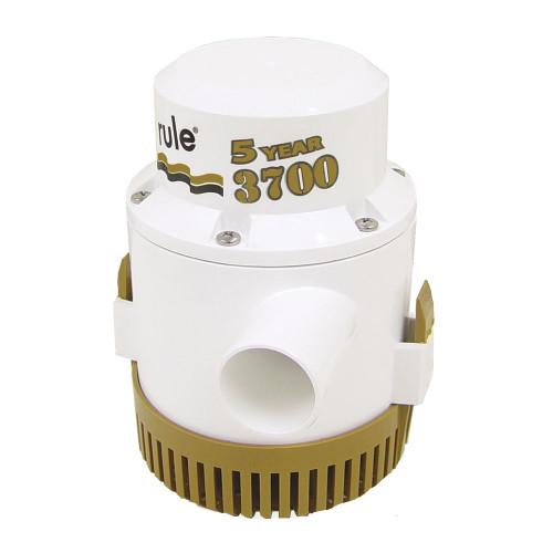 "Rule 3700 G.P.H. ""Gold Series"" Bilge Pump, 13A"