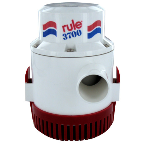 Rule 3700 G.P.H. Bilge Pump Non Automatic 12V, 14A