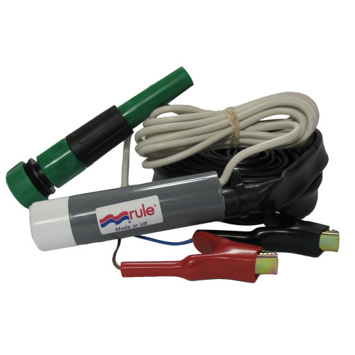 Rule iL500 Plus Inline Pump Kit - 12V, IL500PK