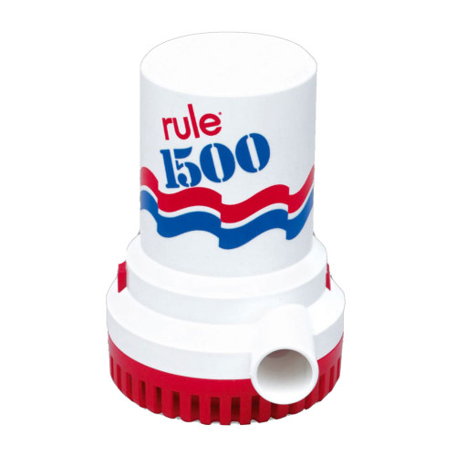 Rule 1500 GPH Non-Automatic Bilge Pump - 24v, 03