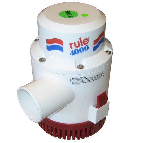 Rule 4000 Non-Automatic Bilge Pump - 24V, 56D-24