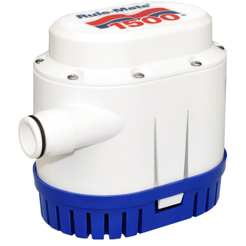 RULE RULE-MATE® 1500 GPH FULLY AUTOMATED BILGE PUMP - 12V, RM1500A