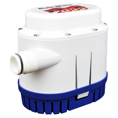Rule Rule-Mate® 2000 GPH Fully Automated Bilge Pump - 12V, RM2000A
