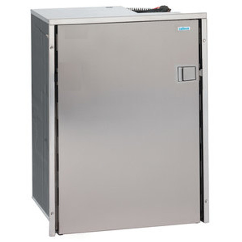 Isotherm Cruise 130 Drink Stainless Steel, AC/DC, Left Swing, 4-Side  Stainless Steel Flange, No Freezer Compartment