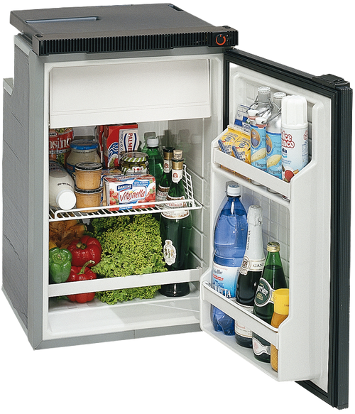 Isotherm Cruise 100 Classic Refrigerator - 3.5 cu.ft., AC/DC, Right Swing, 2-sided fixing frame